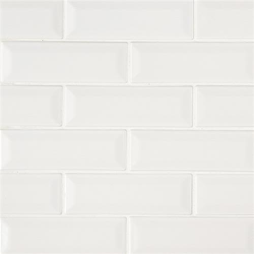 Whisper White in White   2x6 - Tile by MSI Stone