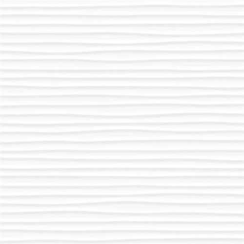 Linea in White Amplitude - Tile by Tesoro