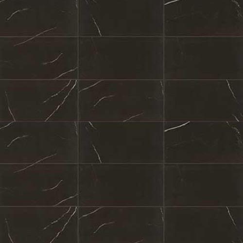 Classentino Marble in Centurio Black Matte  12x24 - Tile by Marazzi