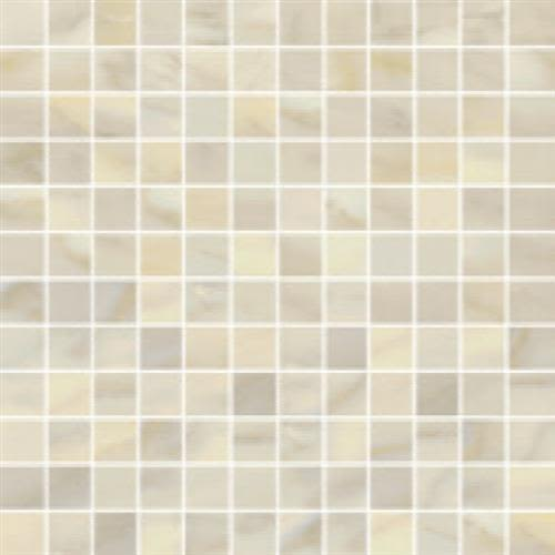 Swatch for Crema Natural   Hexagon flooring product