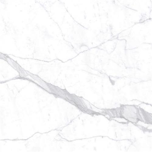 """Swatch for Demi White 59""""x118"""" flooring product"""
