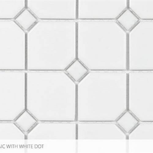 Seville   Contempo Heritage in 2 X 2 With White Dot - Tile by Surface Art
