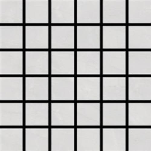 Swatch for White   Mosaic flooring product