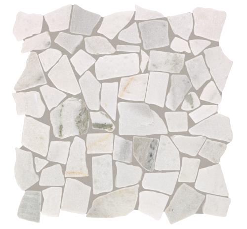 Pebble Brooke in Snow White - Tile by Mohawk Flooring