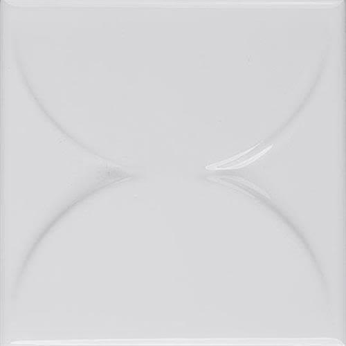 Nu Tempo in Pure White Arc   4x4 - Tile by Marazzi