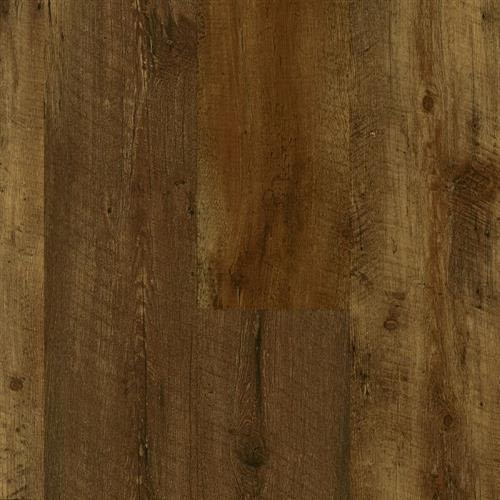 Luxe With Rigid Core in Farmhouse Plank   Rugged Brown - Vinyl by Armstrong