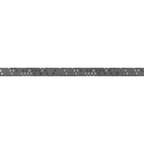 Embold in Embold Hex Medium Grey Eo04  Unpolished 1 X 24  Unpolished - Tile by Daltile